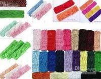 Crochet band-baby boy & girl 1.5 INCN Crochet Headband soft Multi-Colored 1500pcs srdhgf