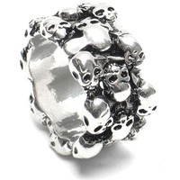 New Design Promotion Retro Unique Skull rings Fashion ring,free shipping
