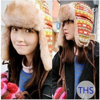Novtely Model Artificial Wool Winter Hat for Women Super Star Design Girls Warm Cap Winter Clothes & Accessories