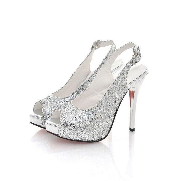 Silver Heels Sale