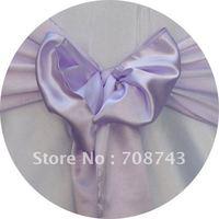 Free shipping -    top quality  lilac cover sash /satin sash
