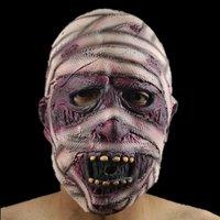 FREE SHIPPING!!! Halloween super terror mask, environmental protection latex mummy face mask