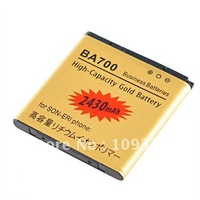 Wholesale - HOT!!! GOLD 2430MAH HIGH CAPACITY REPLACEMENT BATTERY FOR SONY ERICSSON MT15I ST18I MT11I MK16I LT16I