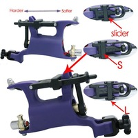Top Purple Butterfly Tattoo Rotary Dragonfly Style Machine Tattoo Guns
