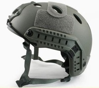 Fast Style Base Jump Helmet Navy Seal ABS Shell Grey free ship