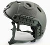 Fast Style Base Jump Helmet Navy Seal Carbon Shell Grey free ship(China (Mainland))
