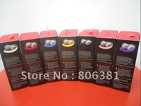 Freeshipping cheap  headphone, Portable headset, Mini HD headphoe, in box Packaging (7 colors available)