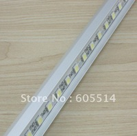 [Seven Neon]DC12V 17.3W SMD 5005 LED Bar Lights 72LEDs/M V-type aluminum non-waterproof LED Cabinet Light free shipping