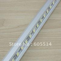 [Seven Neon]DC12V 17.3W SMD 5005 LED Bar Lights 72LEDs/M V-type aluminum non-waterproof LED Cabinet Light free shipping