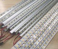 [Seven Neon]20pcs DC12V 17.3W SMD 5005 LED Bar Lights 72LEDs/M V-type aluminum non-waterproof LED Cabinet Light free shipping