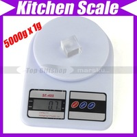 5000g 5kg/1g Kitchen Weight Food Digital Scale #560