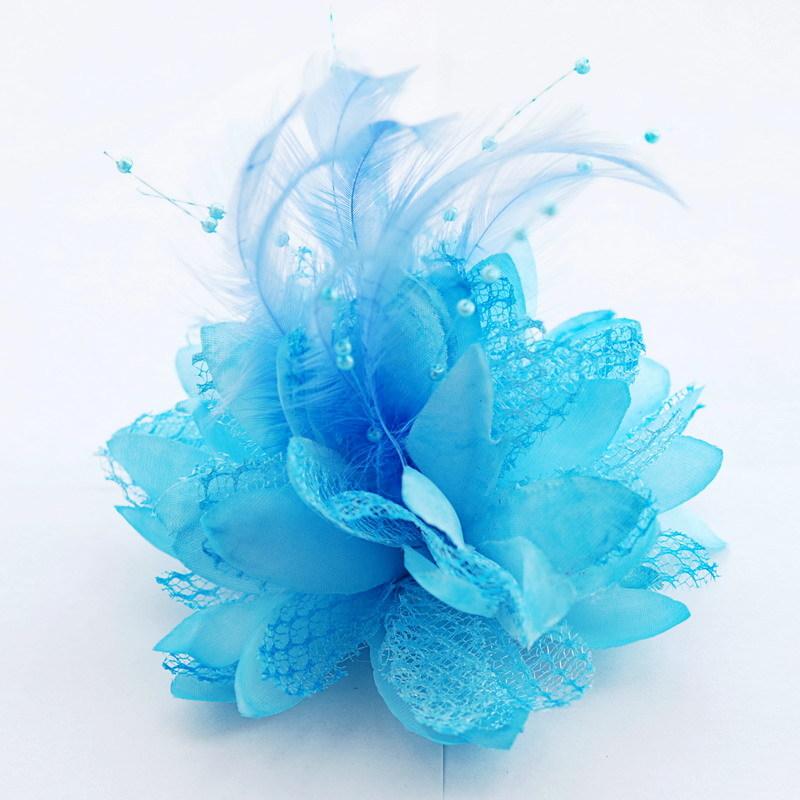 Free Shipping 5pcs Lot Bridal Hairpin Brooch Water Lotus