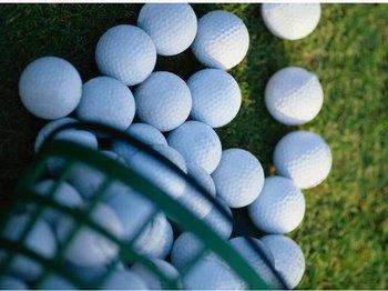 10pcs/lot free shipping Golf practice ball double-layer 2 golf balls