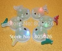Shinning Led Light for Large Kites ,LED light(lamp) with blue clip 50 pcs/unit, 3 colors light,free shipping