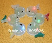 Shinning Led Light for Large Kites ,LED light(lamp) with blue clip,60 pcs/unit, 3 colors light,free shipping