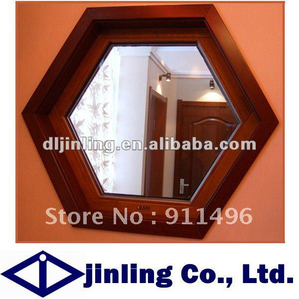 Wooden Frame Fixed Glass Windows Fixed Panel Window(China (Mainland))