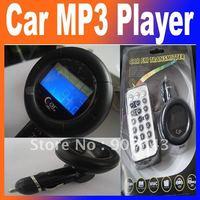 Hot Car MP3 Player Wireless FM Transmitter modulator support USB SD MMC Slot Free Shipping