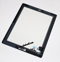 10pcs/lot for iPad 2 touch screen digitizer Glass Assembly Home Button Adhesive black and white color Free ship by DHL