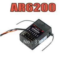 AR6200 2.4GHz DSM2 - 6ch full range receiver with DX6i JR DX7 DSM2 - NEW Free shipping