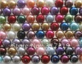 Wholesale 4mm Loose Glass Pearl Beads Free Shipping 1000pcs/lot Mixed colors