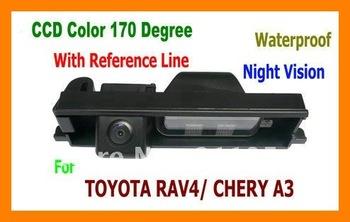 CCD HD Special Car Rear View reverse parking backup Camera for 09 Chery Tiggo& A3 sedan toyota rav4