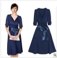 Women's dree,chiffon dress,Summer one-piece dress plus size clothing mm summer elegant dress