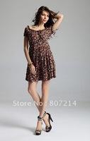 New Lady Women's Summer Wear Milk Silk Shivering Dress