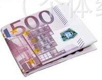 2012  NEW Mad Hot Euro 500  printing wallet purse free shipping
