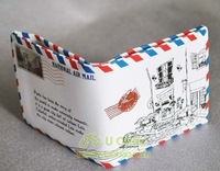 2012  NEW Mad Hot  Envelope mail printing wallet purse fashion Mini wallet free shipping