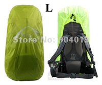 Portable Backpack Rain Cover waterproof Bag Cover Water Resist Green L 60-70L