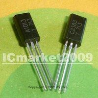 50 PAIR 2SA1013 2SC2383 TO-92L A1013 C2383 (50 2SA1013+50 2SC2383) NPN PNP switching transistors
