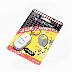 free shipping Whistle Activated Key Finder with LED Light (2pcs LR41) #8397(China (Mainland))