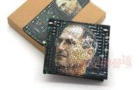 NEW Mad Hot  canvas handwork wallet business man  printing wallet dollar purse idol wallet free shipping