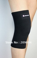 Free Shipping Wholesale Price /Spandex /Kneepad /Knitted knee /Badminton/sport/knee pad/knee/Wristbands/2 colors