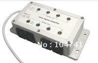 DHL Free shipping Led DMX amplifier/DMX Signal Repeater/DMX signal distributor from 1 group to 8 group