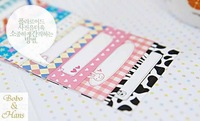 Free Shipping/New cute polaroid film skin VI / photo frame sticker / 20 pcs/set note deco label / Multifunction / Wholesale
