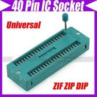 (2pcs/lot)Universal 40P 40Pin ZIF ZIP DIP IC Test Tester Board Socket Good Quality #3223