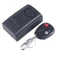 Wireless Remote Control Vibration Alarm for Door Window