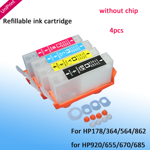 Refillable Ink Cartridges for For HP 920 HP 920XL Officejet 6000 6500 7000 7500(China (Mainland))