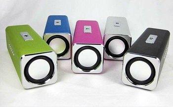 mp3 mini speaker /mini speaker /music box /portable mini speaker Music Angel Sound Box FM drop shipping