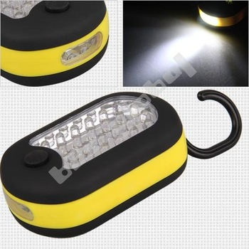 Free shipping Magnet Emergency Car 27 LED Bright Inspection Work Light Lamp Torch