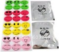 300 Packs/ 1800pcs Smiling Face Kids Baby Bugslock Mosquito Repellent Band Repeller Patch Killer Sticker Camping Bugs lock
