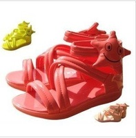 Free shipping 2012 new Korean fashion candy colored sandals