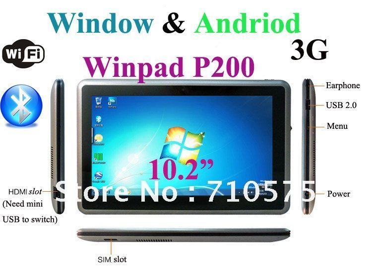 10inch Windows8 TABLET PC 2G 128G 1.6Ghz Intel N570 dual core Wifi 3G bluetooth capacitive Flash HDMI phone call 1366*768(China (Mainland))