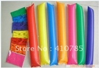 free shipping 100pcs/lot hot sale colorful Inflatable stick,Cheers bar,Fuel rod, party supplies