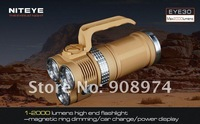 NITEYE EYE30 torch limited edition sand color 3* CREE XML U2, 2000 lumens Ultra-light long-range rechargeable flashlight