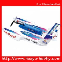 3-in-1 Hydrofoam Boat Aeroamphibious Pathfinder RC Flying Boat