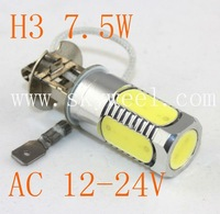 Wholesale H3 7.5W AC 12V-24V Car LED SMD Light Auto Fog Lamp Fog Light ( H1 H3 H4 H7 H8 H11 H13 H16 )