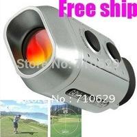 1pc Free Shipping, Digital 7 x Golf Range Finder Golfscope Scope + Bag