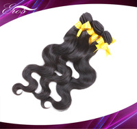 unprocessed Bazilian Vrgin Hair Extensions More wave Mix Lenght 3pcs/lot 12-28inch 3.5oz/bundle top quality DHL Free shiping